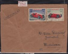 /MONACO 1967 COVER to France @JD3021