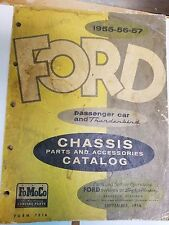 1955-56-57 FORD Passenger Car & Thunderbird Chassis Parts & Accessories Catalog