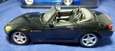 Honda S 2000 Convertible 1:24 Scale Diecast Model By Maisto Black