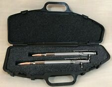 Titanium Ink Pen & Pencil Set, Bolt-Action Levers, Writing Instruments, USA Made