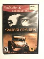 Smuggler's Run (Greatest Hits) - Playstation 2 PS2 Game - Complete & Tested