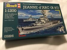 FRENCH HELICOPTER CARRIER 1/1200 JEANNE D'ARC R 97 05896