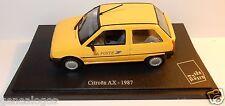 UNIVERSAL HOBBIES  CITROEN AX 1987 POSTES POSTE PTT box 1/43 NEUF