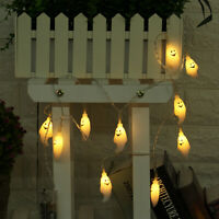 10/20 LED Halloween String Lights Fairy Strings Party Outdoor Indoor Decoration