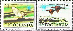 Yugoslavia1991 Sc2112-13  Mi2503-04  2v  mnh  European Nature Protection