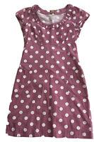 Joules Summer Dress Shift Dress Purple Spotty Lilac. Size 8. Short Sleeves.