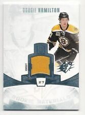 Dougie Hamilton 13-14 Upper Deck SPx Rookie Materials Game-Used Jersey