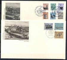 Canada 1982 Mi. 853F-857F+964 Primo Giorno 100% Lettera vecchi oggetti del patr