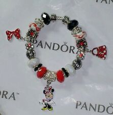 **ON SALE**Authentic Pandora Minnie Mouse Bracelet Authentic Disney Charms