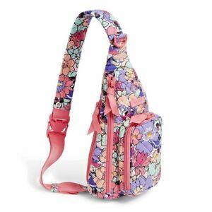 Vera Bradley DISNEY Minnie's Garden Party Mini Sling Bag~ 2021 release ~bnwt