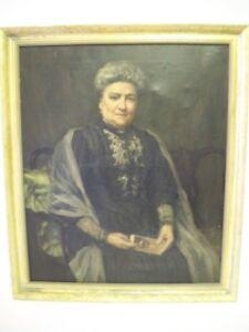 Daisy Radcliffe Beresford (nee Clague), RA Oil on Canvas Portrait 1908