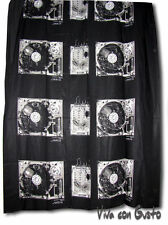 Tela Diesel negro blanco Soundsystem 188x125 NUEVO Hst Zucchi