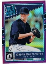 2017 DONRUSS OPTIC PURPLE RATED ROOKIE CARD - JOR0AN MONTGOMERY (#61)