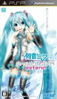 USED PSP Sega Hatsune Miku Project Diva Extend