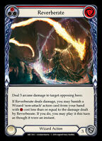 Flesh and Blood TCG! 1x Reverberate (Red) - Rainbow Foil - NM Arcane Rising