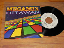 OTTAWAN - MEGAMIX / GERMANY VINYL 7'' SINGLE 1989 MINT-