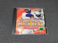 Sammy Sosa High Heat Baseball 2001 #1 PC Game Korean Version Windows CD ROM Rare