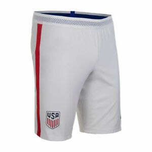 NIKE USA UNITED STATES VAPOR MATCH White Gym Red Shorts 2XL XXL Mens