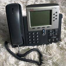 Lot of 5) CISCO Unified IP Phone 7962 w/ Handset