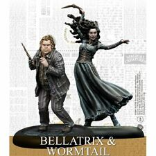 Harry Potter Miniatures Adventure Game Bellatrix and Wormtail