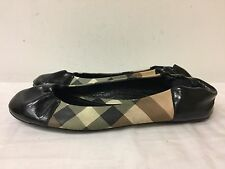 BURBERRY NOVA SOFT Ballerina Flats Shoes Size EUR 39 Made In Italy