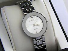 NEW Anne Klein AK/2081 Silver Tone Bracelet Diamond Women's Watch