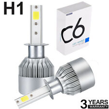 2X H1 CREE LED Headlight Kit 110W 225000LM High-LOW Beam Bulb Xenon 6000K White