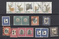 South Africa 1951 Onwards Fine Used Collection Of 17 Incl Postage Dues  JK3160