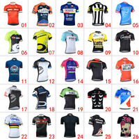 New Men's Fashion T-shirt Shirt Riding Top Road Bike Sports Wear Cycling Jerseys