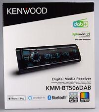 KENWOOD KMM-BT506DAB inkl. DAB+Antenne, Autoradio DAB+, Bluetooth, USB, AUX, MP3