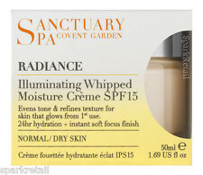 Sanctuary Spa Radiance Illuminating Whipped Moisture Creme SPF15 Normal/Dry 50ml