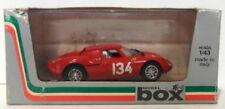Voitures de courses miniatures blancs Ferrari 1:43