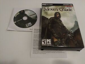 Mount & Blade (PC, 2008) PC Big Box - VGC