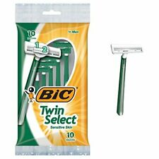 BIC Twin Select Men's Disposable Razor 12 Count (Pack of 3) Total 36 ct