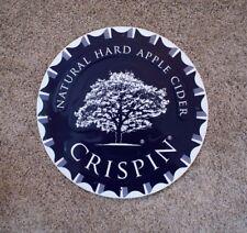 "Crispin Natural Hard Cider Tin Round Metal Sign Bottle Cap 15"" Purple"