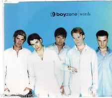 BOYZONE - WORDS (3 track CD single)