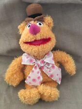 "Disneyland Disney Muppet Vision 3D Plush Bean Stuffed Fozzie Bear Doll Nwt 12"""