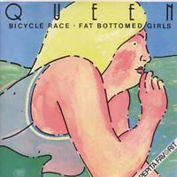 ★ CD SINGLE QUEEN Bicycle race + HUNGARY + 2-track CARD SLEEVE
