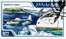 REPUBLIC RC-3 SEABEE Amphibious Flying Boat Seaplane Aircraft Stamp