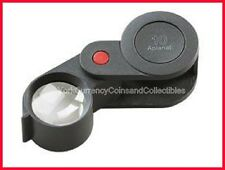 NEW ESCHENBACH Hand-held Technical Magnifier or Loupe 10x, 23mm Aplanatic Lens!