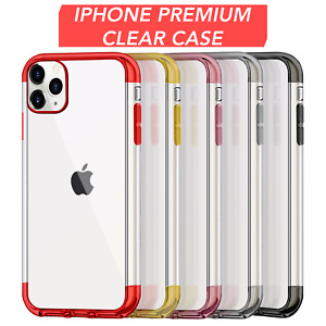 Phone Cover For iPhone X XS XR XS Max Shockproof Clear Soft TPU Silicone Cover