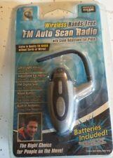 FM Head Set Auto-Scan Radio -New factory sealed!