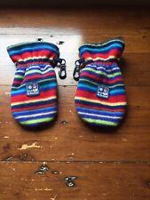 Jojo Maman Bebe Fleece Striped Mittens age 1-2 Years