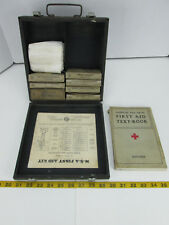 Vintage Mine Safety Appliances First Aid Kit American Red Cross Book SKU A CS2