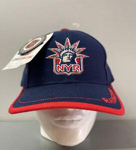 New York Rangers NHL Logo Athletic Cap Hat One Size Hockey NY