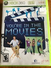 YOU'RE IN THE MOVIES - XBOX 360 - WITH MANUAL Requires Xbox Live vision Camera