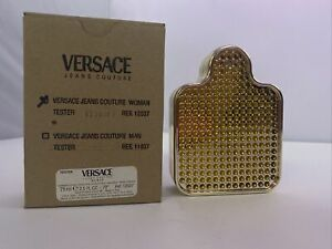 Versace Jeans Couture Woman EDT Spray 2.5 oz / 75 ml New Tester in Brown Box .