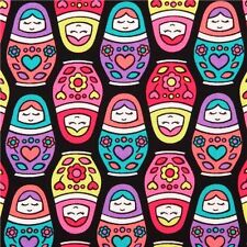 Timeless Treasures Matryoshka Dolls - Cotton Quilting Fabric - By The Yard