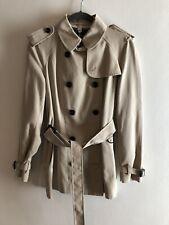 New Womens Burberry London Short Trench / Rain Coat