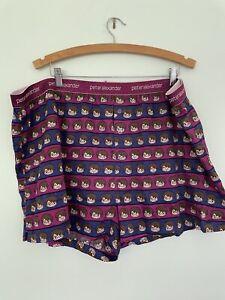 HARRY POTTER BNWOT plus size 3XL XXXL unisex purple mens womens pj short